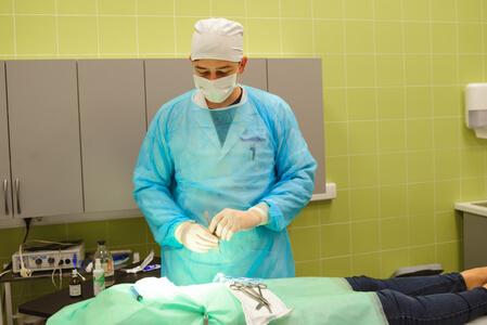 Прием хирурга